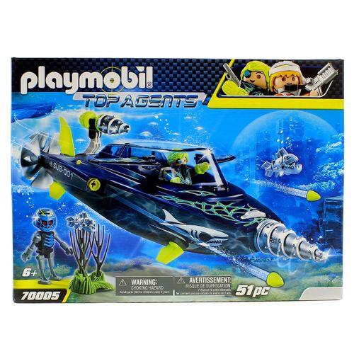 Playmobil Top Agents TEAM S.H.A.R.K. Perforadora