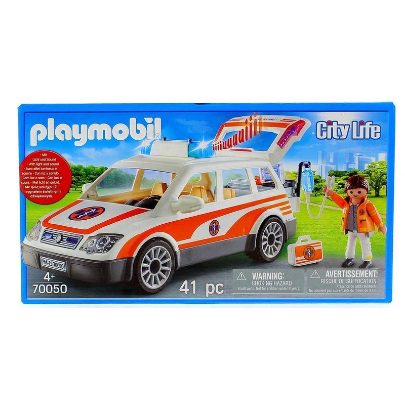 Playmobil-City-Life-Coche-de-Emergencias-Sirena