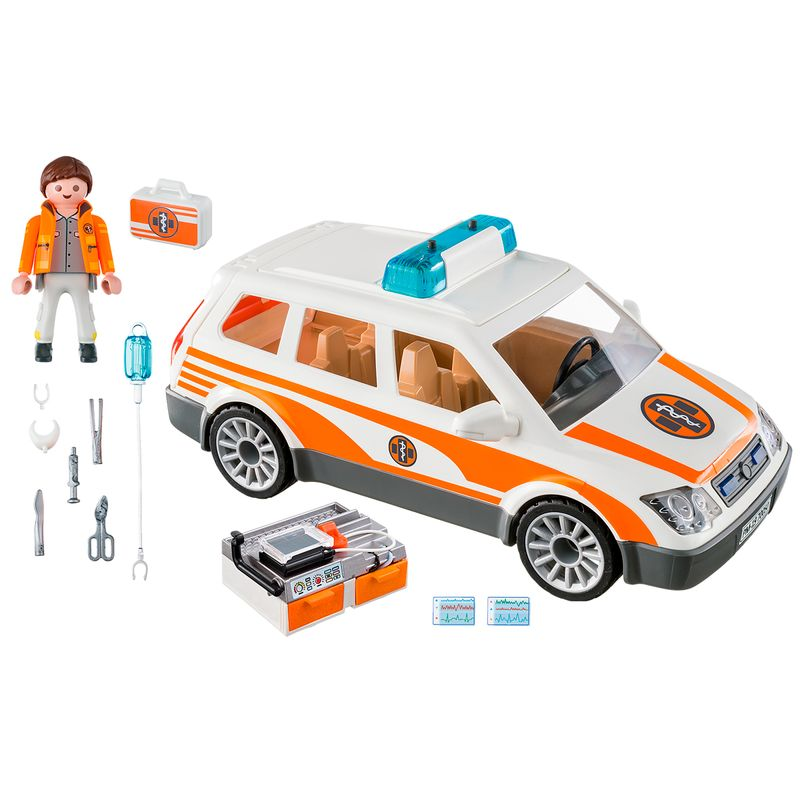 Playmobil-City-Life-Coche-de-Emergencias-Sirena_1