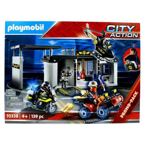 Playmobil City Action Comisaría Fuerzas Especiales
