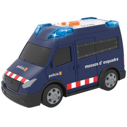 Vehículo Furgoneta Mossos d'Esquadra