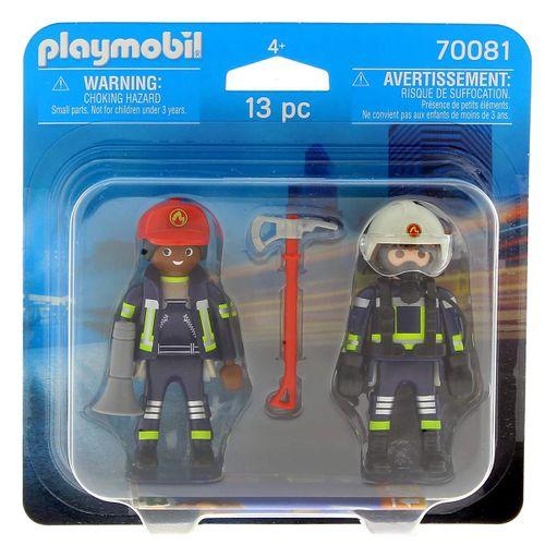 Playmobil Duo Pack Bomberos