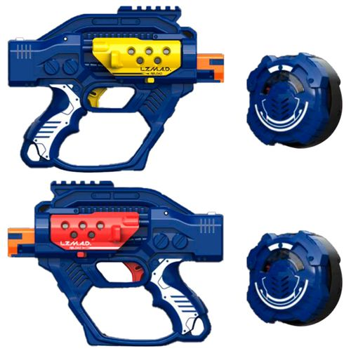 Lazer Mad Battle Ops X Pack Pistolas Láser Tag