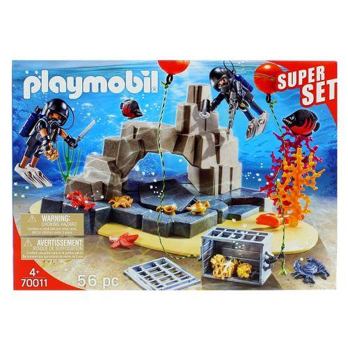 Playmobil City Acion SuperSet Unidad de Buceo