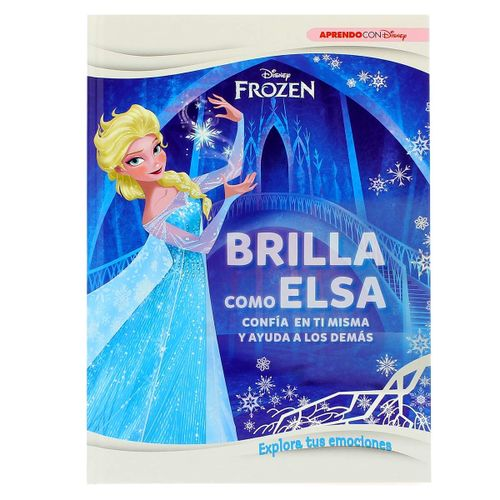 Frozen Libro Brilla como Elsa