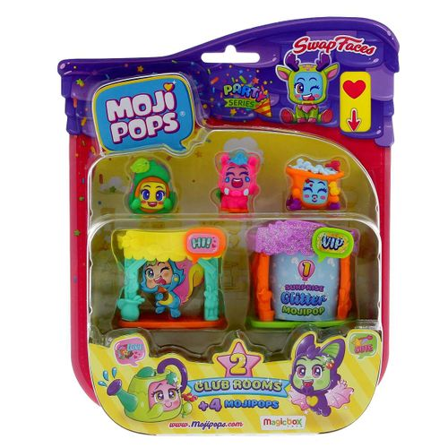 Mojipops Party Series Blíster Club Rooms