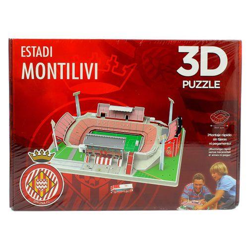 Girona F.C Puzzle Estadio 3D