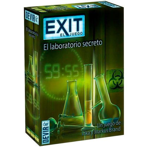Exit 3 El Laboratorio Secreto Juego de Escape