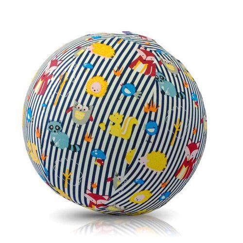 Bubabloon Forro para globos Rayas Azul