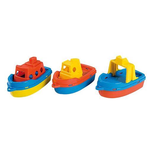 Conjunto de 3 barcos de colores