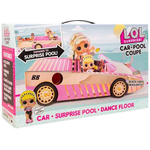 LOL Surprise Vehículo Car Pool Coupé S7