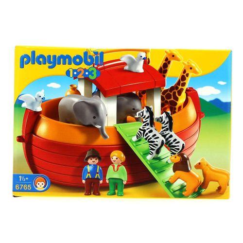 Playmobil 1.2.3 Maletín Arca de Noe