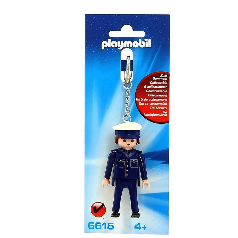 Playmobil-Llavero-Policia