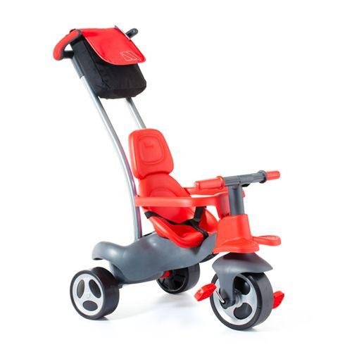 Triciclo Rojo con Ruedas de Goma