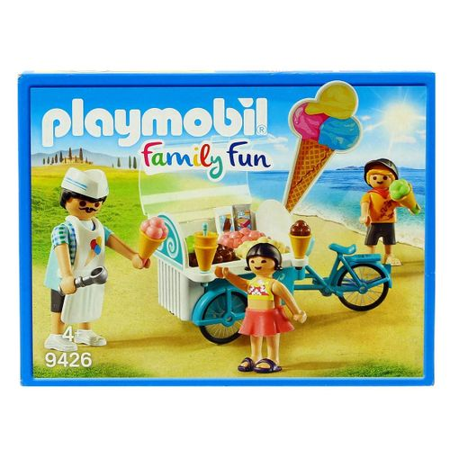 Playmobil Family Fun Carrito de Helados