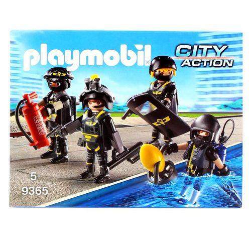 Playmobil City Action Equipo Fuerzas Especiales