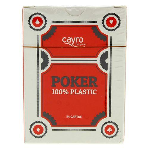 Baraja de Póker Plástico Surtida