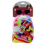 Minnie-Mouse-Pack-Regalo-Gafas-Sol-y-Gorra