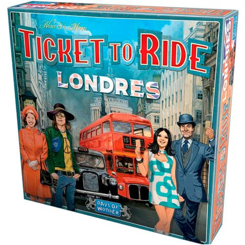 ¡Aventureros al Tren! Londres Juego de Mesa