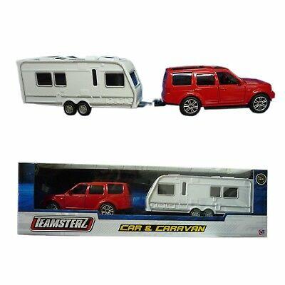 Playset coche y caravana