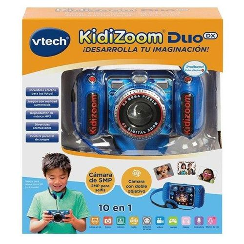 Kidizoom Duo DX 1 Azul. Cámara de fotos digital