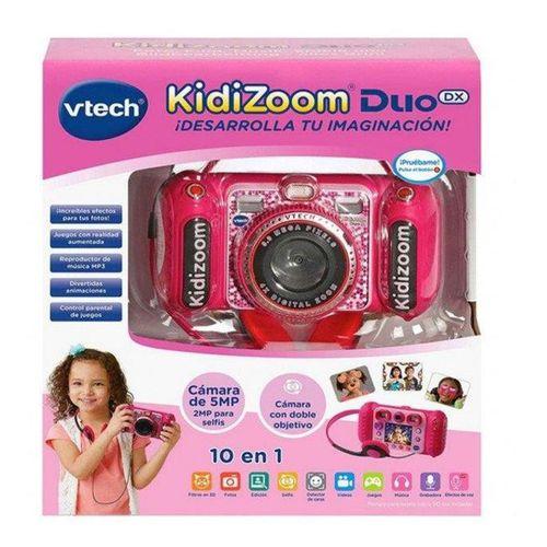 Kidizoom Duo DX 1 Rosa. Cámara de fotos digital