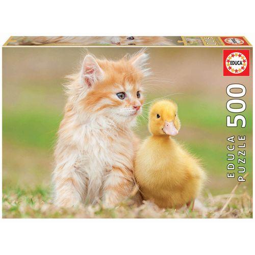 Puzzle de 500 piezas Amigos Adorables
