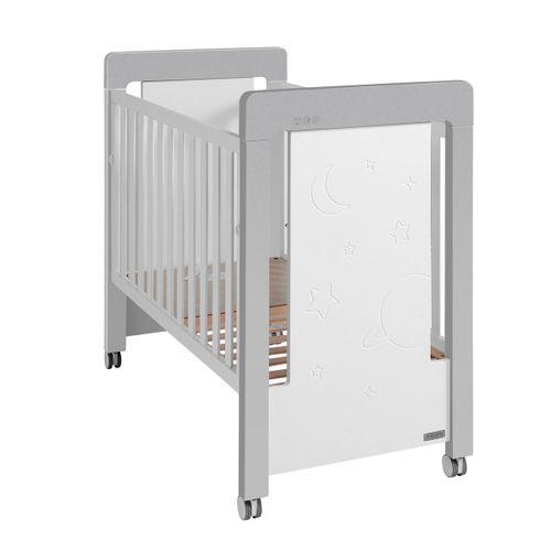 Cuna Magic & Mum 60*120 Cm Blanco/Aluminio