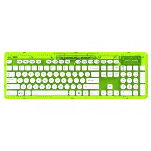 Teclado Wireless Rock Candy - Verde Lima (Pc/Mac)