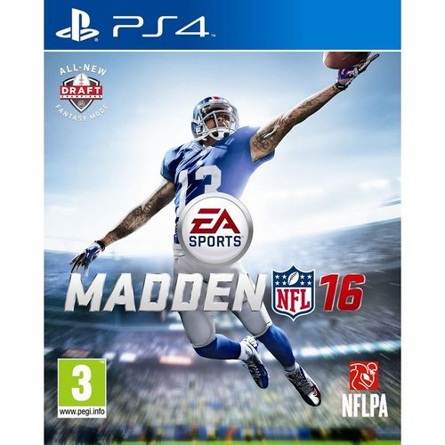 Ps4 Madden Nfl 16  PS4
