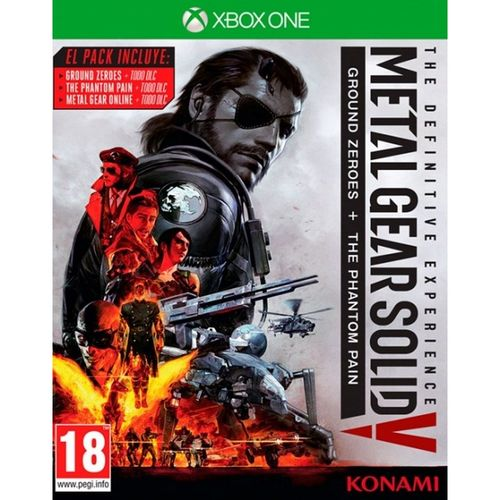 Metal Gear Solid V: Edición Definitiva XBOX ONE