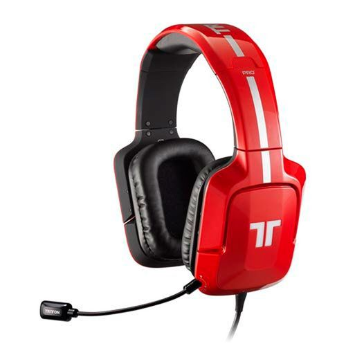 Auriculares Tritton Ax Pro+ Dolby 5,1 Rojo (Ps4-Ps3-X3-Pc)