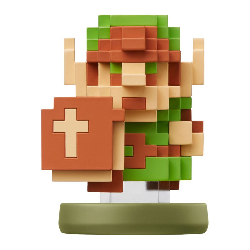 Figura-Amiibo-Link-8-Bits--Serie-Zelda-