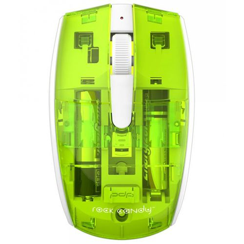 Raton Wireless Rock Candy - Verde Lima (Pc/Mac)