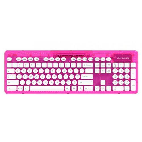Teclado Wireless Rock Candy - Rosa (Pc/Mac)