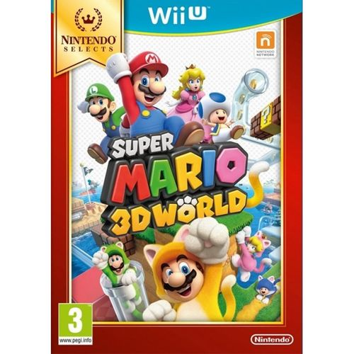 Super Mario 3D World - Selects - WII U
