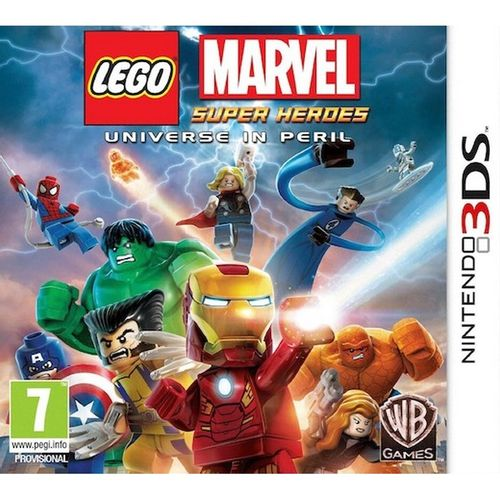 Lego Marvel Superheroes 3DS