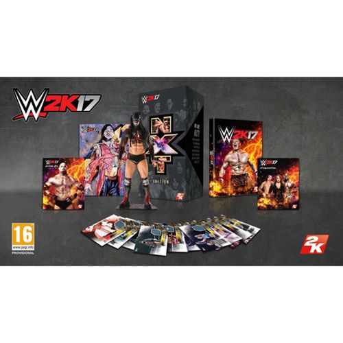 Wwe 2K17 Edición Coleccionista Nxt XBOX ONE