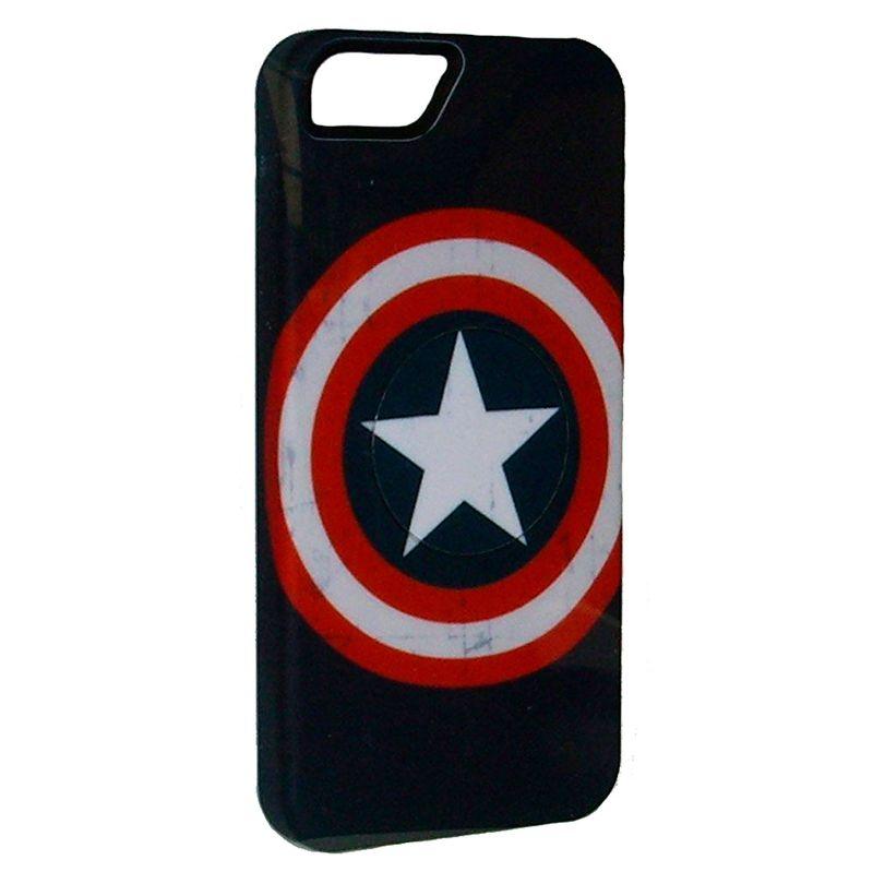 Carcasa-Marvel-Capitan-America-Vintage-Para-Iphone-5---Se