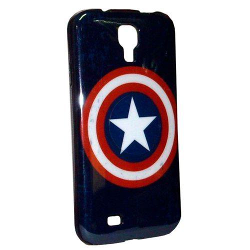 Carcasa Marvel Capitan America Vintage Para Samsung Gs4