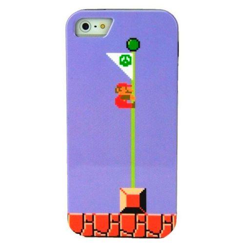 Carcasa Super Mario Bandera 8 Bits Para Iphone 5