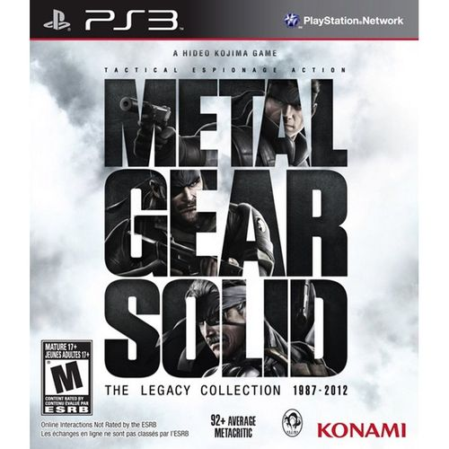 Metal Gear Solid: Legacy Collection [Importación USA] PS3
