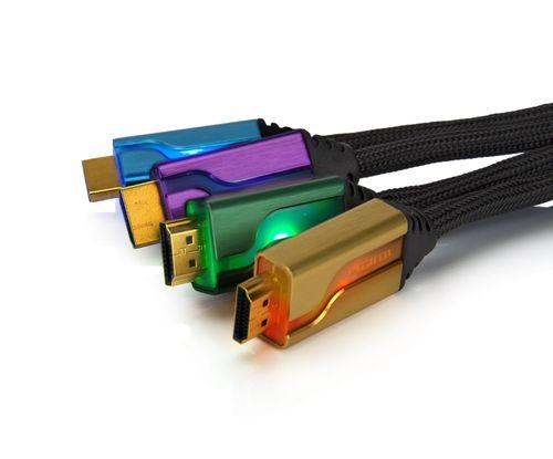 Quad Cable Hdmi 6' Afterglow (Verde/Dorado/Lila/Azul)