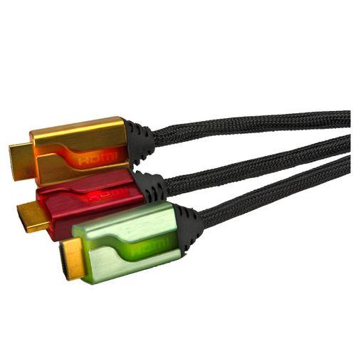 Triple Cable Hdmi 6' Afterglow (Rojo/Dorado/Verde)