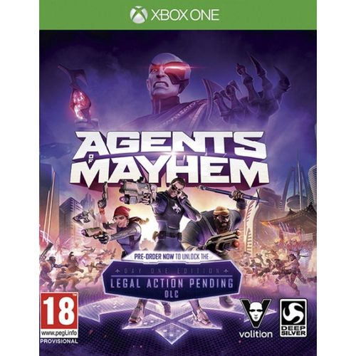 Agents Of Mayhem Edición Day One XBOX ONE
