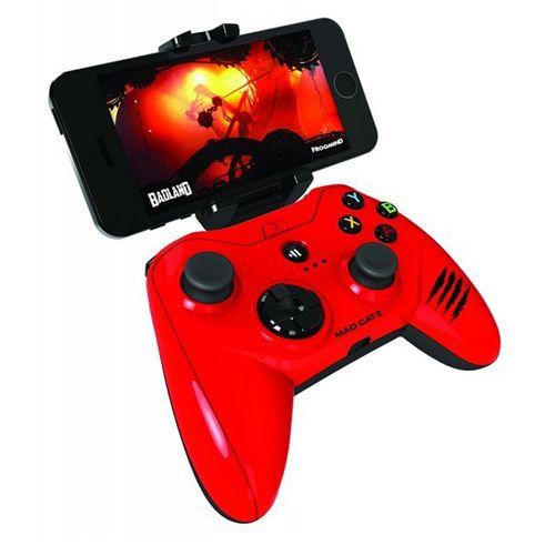 Mad Catz C.T.R.L.I Mando Iphone, Ipad y Ipod Rojo