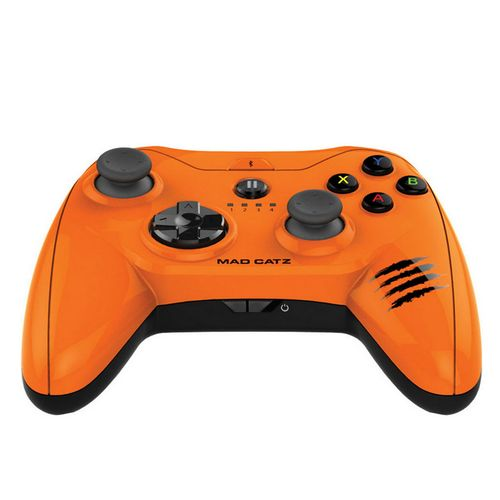 Mad Catz Micro C.T.R.L.I Mando Iphone, Ipad y Ipod Naranja