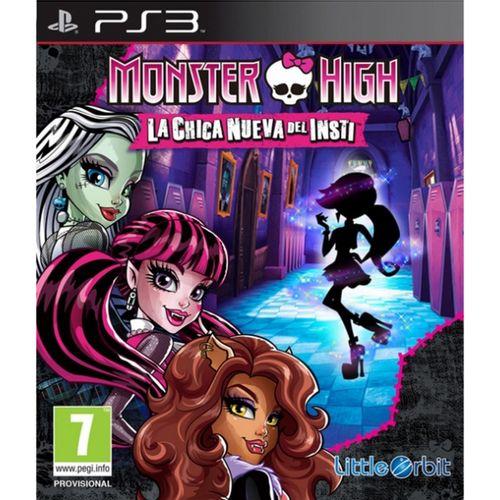 Monster High: La Nueva Chica Del Insti PS3