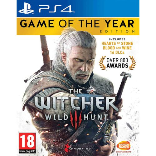 The Witcher 3 Edición Game Of The Year PS4