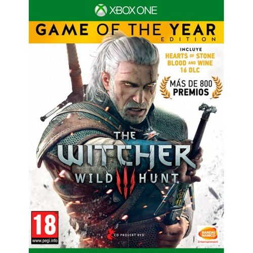 The Witcher 3 Edición Game Of The Year XBOX ONE
